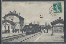 CPA 27 - Vascoeuil, La Gare - Autres Communes