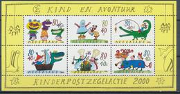 Nederland/Netherlands/Pays Bas/Niederlande 2000 Mi: Block 67 Nvph: 1930 (PF/MNH/Neuf S Ch/**)(5658) - Blocks & Sheetlets