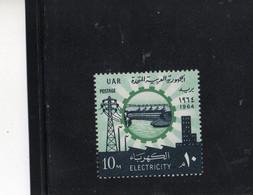 CG68 - 1964 Egitto U.A.R. - Elettricità - Unused Stamps