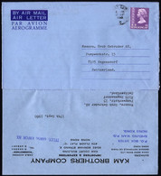 Hong Kong Aerogramme 1980 Switzerland - Non Classés