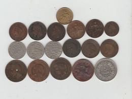 Lot De 18 Monnaies Françaises - Altri