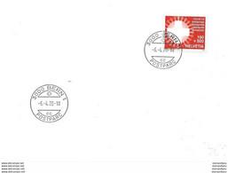 """Enveloppe Suisse Avec Timbre à Surtaxe """"Covid19"""" Oblit 1er Jour D'utilisation 06.04.20. - Cartas"""