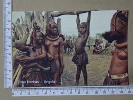 ANGOLA - TRIBO HIMBAS -  COSTUNES AFRICANOS -   2 SCANS  - (Nº42568) - Angola