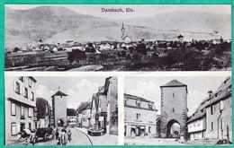 DAMBACH - CARTE MULTIVUES - Dambach-la-ville