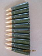 10 Cartouches 7,62X39 Kalash Neutralisées - Equipment