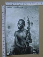 MOZAMBIQUE - CAÇADOR -  ZAMBEZE -   2 SCANS  - (Nº42575) - Mozambique