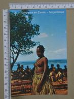 MOZAMBIQUE - DANÇARINA -  ZAVALA -   2 SCANS  - (Nº42576) - Mozambique