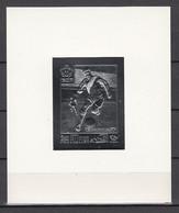 Football / Soccer / Coupe Du Monde 1970: Fujeira  Silberblock **, Imperf. - 1970 – Mexique