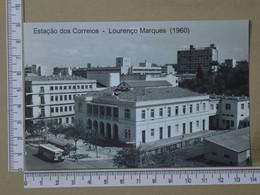 MOZAMBIQUE - ESTAÇÃO DOS CORREIOS -  LOURENÇO MARQUES -   2 SCANS  - (Nº42579) - Mozambique