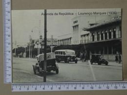 MOZAMBIQUE - AVENIDA DA REPUBLICA -  LOURENÇO MARQUES -   2 SCANS  - (Nº42580) - Mozambique