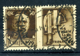 1942 REGNO Propaganda Di Guerra N.8 USATO 30 Centesimi Bruno MILIZIA - Oorlogspropaganda