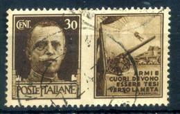 1942 REGNO Propaganda Di Guerra N.6 USATO 30 Centesimi Bruno ESERCITO - Oorlogspropaganda