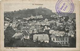 LINZ AM RHEIN - St Antoniushaus, Cachet Ferroviaire, Gare De Linz, Territoires Occupés. - Linz A. Rhein