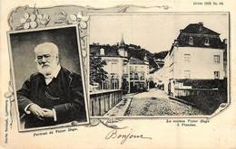 Luxembourg - Vianden - La Maison Victor Hugo - Portrait De Victor Hugo - Vianden