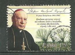POLAND Oblitéré 3672 Naissance Du Cardinal Stefan Wyszynski, Primat église Catholique Polonaise, Religion - Usati