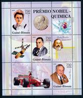 D - [400975]TB//**/Mnh-Guiné-Bissau 2006 - Premier Prix Nobel, Chimie, Voitures, Satellites - Chemistry