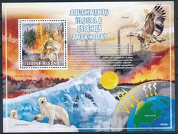 D - [401128]TB//**/Mnh-Guinée-Bissau 2009 - Réchauffement Climatique, Espèce Menacée - Otros