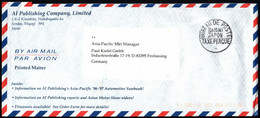 Japan Air Mail Germany [Taxe Percue] - Sobres