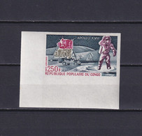 CONGO 1973, Mi# 364, Imperf, Space, Cosmonaut, MNH - Collections