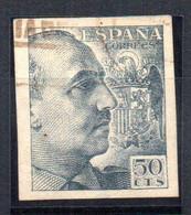 Sello Nº 927 Sin Dentar España - 1931-50 Usados
