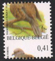 VARIETE N°3135** (1) 0,41 Tourterelle Turque : DECADRAGE SUPERIEUR 2 - Oddities