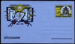 Vatican 1980 Aerogramme AG 18 Vatican Secret Archives - Postal Stationeries