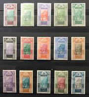 GUINÉE 1922 - NEUF*/MH - Série Complète YT 84 / 98 - LUXE - CV 15 EUR - Unused Stamps