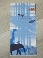 MUSEUM NATIONAL HISTOIRE NATURELLE. THE GRAND GALLERY OF EVOLUTION. ANGLAIS. MAP. - Other