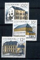 1987 LUSSEMBURGO SET MNH ** Archittettura Rurale 1130/1132 - Neufs