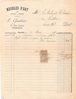 18401  31-1786   1911 MEUBLES D ART L GAUTHIER A VERSAILLES - M. CHENE A VERSAILLES - 1900 – 1949