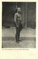 Caroline Islands, YAP WAQAB, Native High Chief (1910s) Postcard - Micronesia