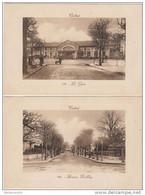 Cpa 91 Corbeil Lot De 2 Cartes N°113 La Gare Et N°120 Avenue Darblay (écrite En 1913 Et 1917 Tbe) - Corbeil Essonnes