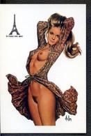 Carte Postale PIN UP ASLAN Collection Privée - Pin-Ups