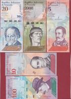 Venezuela 5 Billets UNC - Venezuela