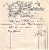 18401  32-0952   CONFISERIE PATISSERIE GLACES MAISON GUINON A VERSAILLES - MME CHENE - 1900 – 1949