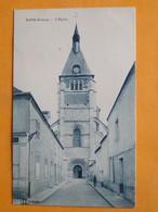 LORRIS  (Loiret) -- Lot De 2 Cartes Différentes - L'Eglise - Petites ANIMATIONS - Otros Municipios