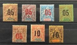 GUINÉE 1912 - NEUF*/MH - Série Complète YT 48 / 54 - LUXE - CV 27 EUR - Unused Stamps