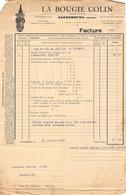 18401  34-0870   1934 LA BOUGIE COLIN A SARREBOURG - M. PERRIER A SAINT JEAN DE BOURNAY - 1900 – 1949