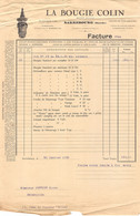18401  34-0871   1935 LA BOUGIE COLIN A SARREBOURG - M. PERRIER A SAINT JEAN DE BOURNAY - 1900 – 1949