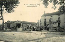 Is Sur Tille * La Maison GIRAUT , Marbrerie Tailleur De Pierre * Métier - Is Sur Tille