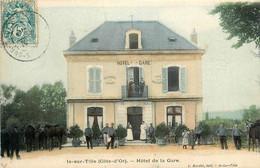 Is Sur Tille * Devanture Façade Hôtel De La Gare - Is Sur Tille