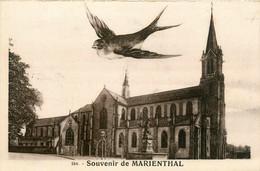 Marienthal * Souvenir De La Commune * Vue Sur L'église - Is Sur Tille