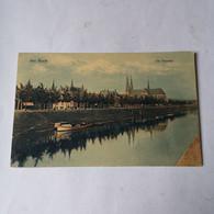 's Hertogenbosch (Den Bosch) De Dommel (niet Standaard) 1916 Vouw - 's-Hertogenbosch