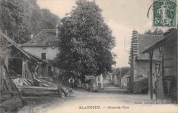 GLANDIEU - Grande Rue - Scierie - Autres Communes