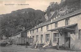 GLANDIEU - La Marbrerie - Voie Ferrée, Wagon - Autres Communes