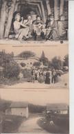 LOT DE 100 CPA TYPE PETITE CARTE  DROUILLE - Pas De Paris, Lourdes, Versailles, Mont St Michel ...  Qqes Ex En Scan  - - 100 - 499 Postcards