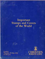 Auction Catalogue - World - Christie's 25 May 1995 - Important Stamps & Covers - With Prices Realised - Other