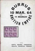 Auction Catalogue - British Empire With Kenya Uganda Tanganyika Transvaal Trinidad Robson Lowe  Burrus Coll - Other