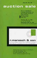 Auction Catalogue - Canada - Maresch 14-15 May 1996 - Incl The Bill Simpson Coll Of Small Queens - Cat Only - Other