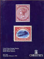 Auction Catalogue - United States & The November Coll Of Yukon Terr - Christie's 2 Feb 1994 - The Westport Coll - Other